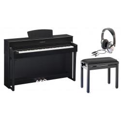 Pack Piano numérique YAMAHA CLAVINOVA CLP-635