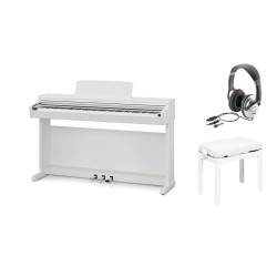 Pack Piano numérique KAWAI CN-17 W Blanc mat