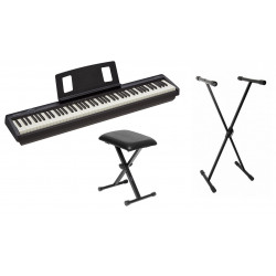 PACK 2 PIANO ROLAND FP-10 BK
