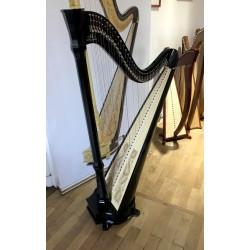Harpe celtique de concert CAMAC Mademoiselle 40 Cordes Noir