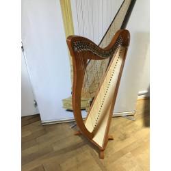 Harpe celtique Camac Hermine 34 cordes Merisier