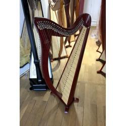 Harpe celtique Camac Hermine 34 cordes Acajou