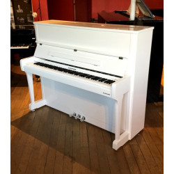 Piano Droit W.HOFFMANN Vision V120 Blanc Brillant /Chrome