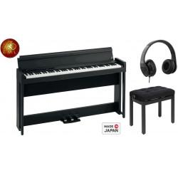 piano numérique meuble korg C1 air BK