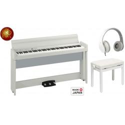 pianos numérique meuble korg C1 air WH