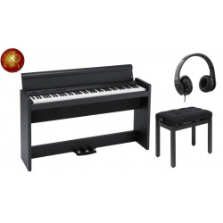 PACK PIANO KORG LP-380 BK
