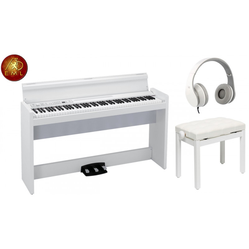 PACK PIANO KORG LP-380 WH