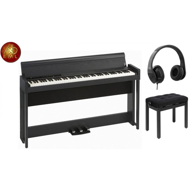 piano numérique meuble korg C1 air WBK