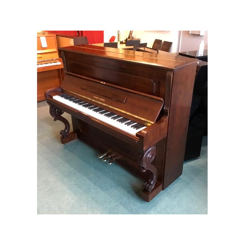 Piano Droit YOUNG-CHANG U-121 Noyer satiné