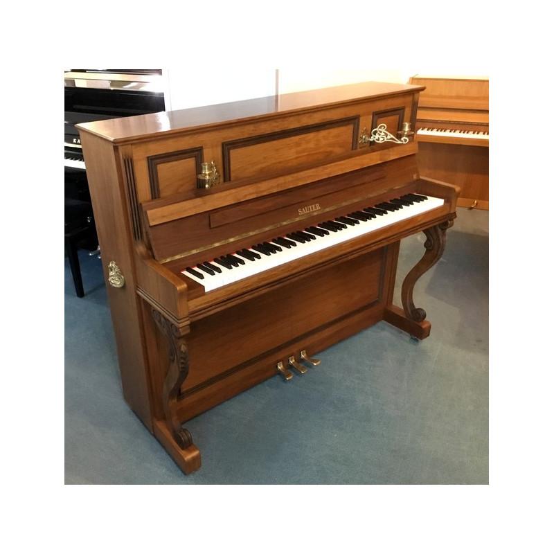 Piano Droit SAUTER 120 R2 noyer satiné