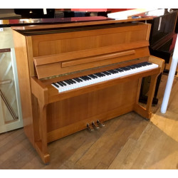 PIANO DROIT WILH.STEINBERG IQ16 Merisier Marqueté