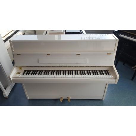 Piano droit SAMICK 108S blanc brillant