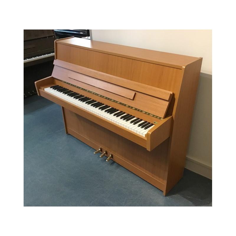 Piano Droit Rieger-Kloss 111 Nova Merisier satiné