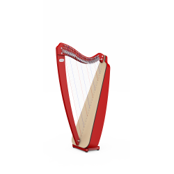 Harpe ODYSSEY by camac harps 27 cordes avec leviers