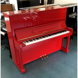 Piano Droit KAWAI NS-10 122cm Rouge brillant