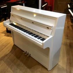 Piano Droit SEILER Favorit  Blanc brillant 116cm