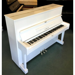 Piano droit YAMAHA U1 Blanc brillant