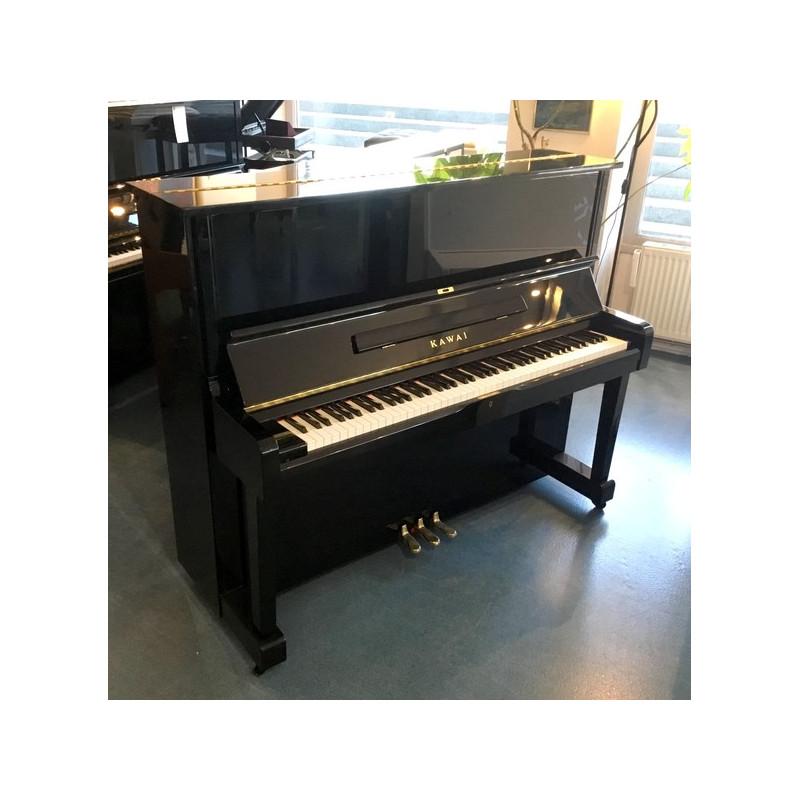 Piano Droit KAWAI NS-15 Noir brillant 124cm