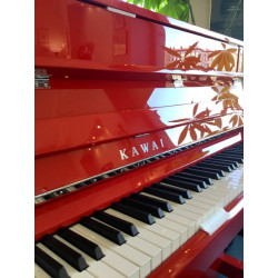 PIANO DROIT KAWAI K200 114cm Rouge Brillant