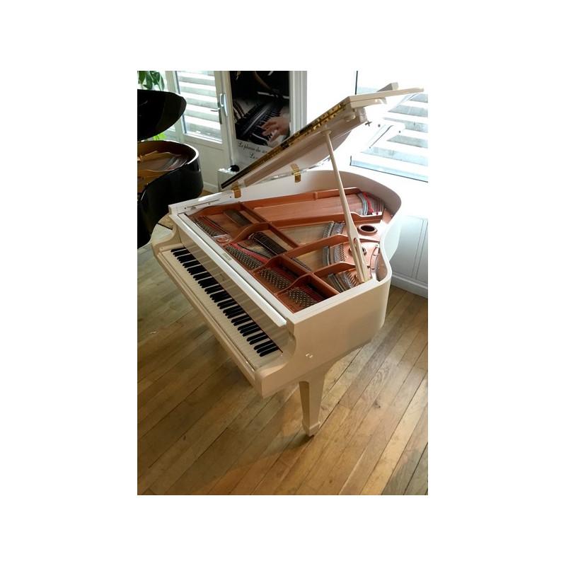 PIANO A QUEUE WEBER W-157 Blanc Brillant