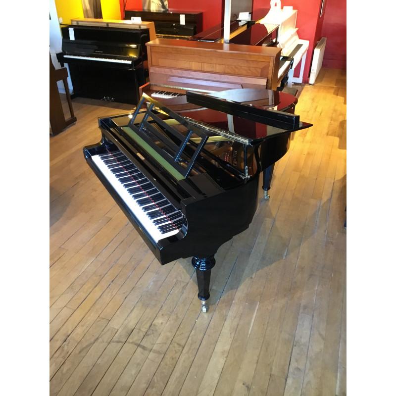 PIANO A QUEUE W HOFFMANN H173 Classic LANGLAU Noir brillant