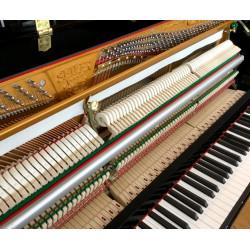 PIANO DROIT SEILER 116 MODERN  Noir Brillant