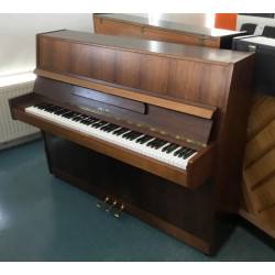 Piano droit occasion Hellas 111 renner noyer satiné