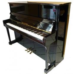 PIANO DROIT WILH.STEINBERG P118 Noir brillant/Laiton