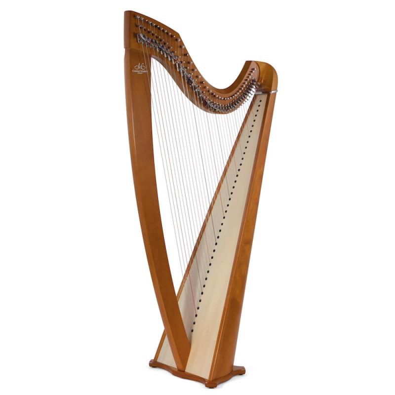 Harpe CAMAC, modèle ISOLDE Classique merisier