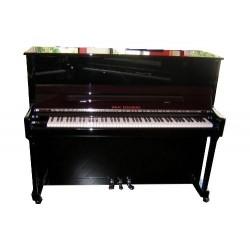 PIANO DROIT Wilh.Steinberg WST 118 III Noir Brillant/Chrome ou Laiton