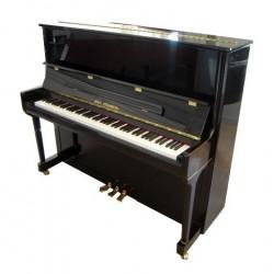 PIANO DROIT Wilh.Steinberg WST 125 III Noir Brillant/NOUVEAUTE