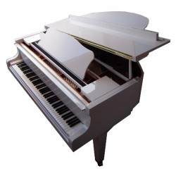 PIANO A QUEUE YAMAHA GC1 Blanc Brillant