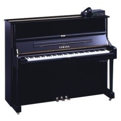 PIANO DROIT YAMAHA DU1 DISKLAVIER Noir Brillant 121 cm