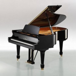 PIANO A QUEUE BECHSTEIN ACADEMY A-208 NOIR BRILLANT