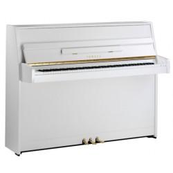 PIANO DROIT YAMAHA b1 109cm blanc Brillant