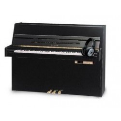PIANO DROIT SAMICK JS 042 SILENT Dream Noir Brillant 108cm