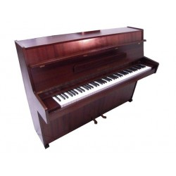 Piano Droit HUPFELD 109 Acajou Brun satiné