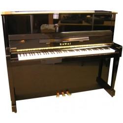 Piano Droit KAWAI KU-10 Noir brillant 121cm