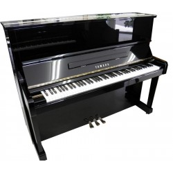Piano Droit YAMAHA MC301 121 cm Noir brillant