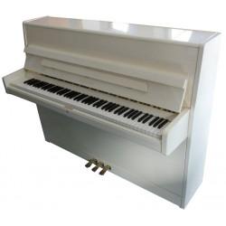 Piano Droit W.HOFFMANN H112 Blanc brillant