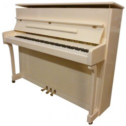Piano Droit PLEYEL by SCHIMMEL 116 International Ivoire brillant