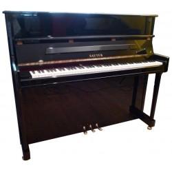 Piano Droit Sauter 120 Noir brillant Mécanique Renner R²