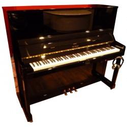 Piano Droit Petrof 125M1 Silent Noir brillant