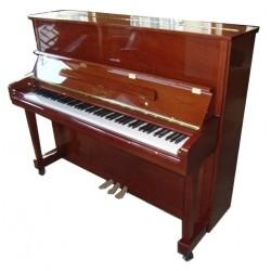 PIANO DROIT GEORGE STECK US-22T Cerisier Brillant.