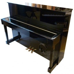 Piano Droit KAWAI CX-5H AT Anytime 114cm Noir brillant
