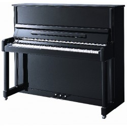 PIANO DROIT WILH.STEINBERG P 121 Chrome/Noir Brillant