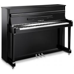 PIANO DROIT YAMAHA b2 113cm Noir brillant Edition Argent