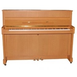 PIANO DROIT YAMAHA b2 113cm Hêtre naturel satiné