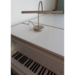 Lampe de piano chrome mat L 39100 CM