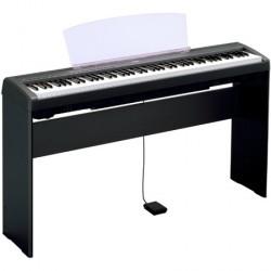 Pied L-85 / L-85S Yamaha pour P85, P95, P35 ou P105. Existe en noir ou blanc.